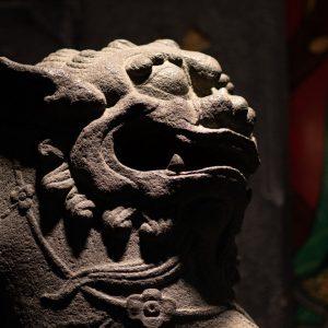 lion-temple-art